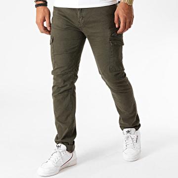 MZ72 - Pantalon Cargo Erwan Vert Kaki