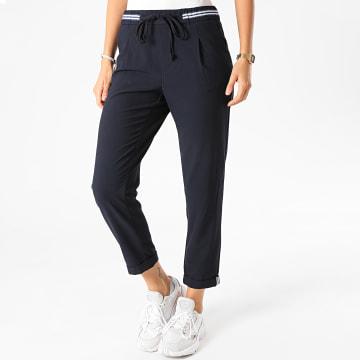 Only - Pantalon Femme Rossy Rita Sporty Bleu Marine