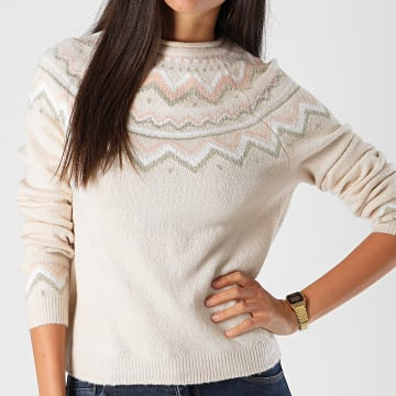 Only - Pull New Eyla Beige Rose Doré