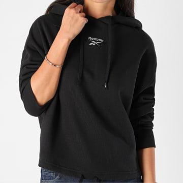 Reebok - Sweat Capuche Femme Classic Small Logo GH4038 Noir