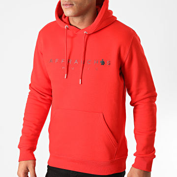 Affranchis Music - Sweat Capuche Affranchis Music Rouge Noir