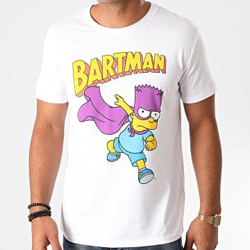 The Simpsons - Tee Shirt Bartman Blanc