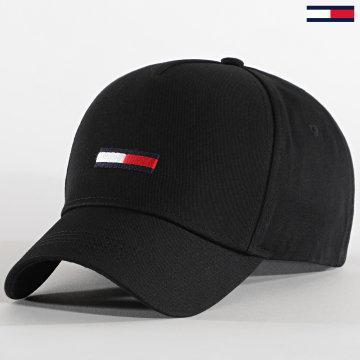 Tommy Jeans - Casquette Flag Cap 0843 Noir