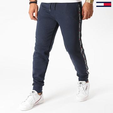 Tommy Hilfiger - Pantalon Jogging A Bandes 0706 Bleu Marine