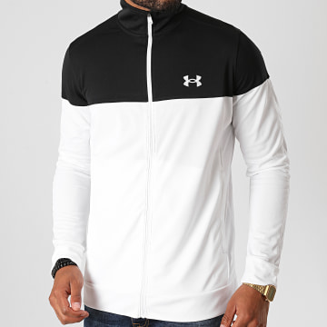 Under Armour - Veste Zippée 1313204 Blanc Noir