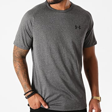 Under Armour - Tee Shirt De Sport 1326413 Gris Anthracite Chiné