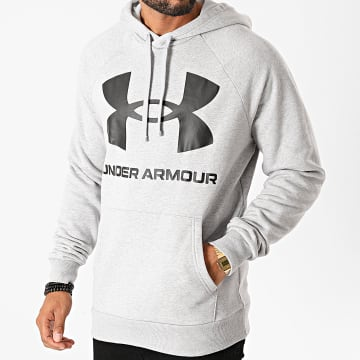 Under Armour - Sweat Capuche 1357093 Gris Chiné