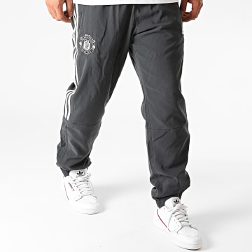Adidas Performance - Pantalon Jogging A Bandes Manchester United Seasonal Special FR3855 Gris Anthracite