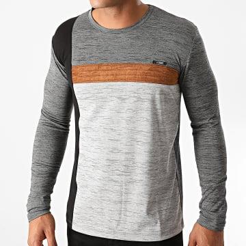 Armita - Tee Shirt Manches Longues 7422 Gris Chiné