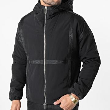 Emporio Armani - Veste Zippée Capuche 6H1BL0-1NYFZ Noir