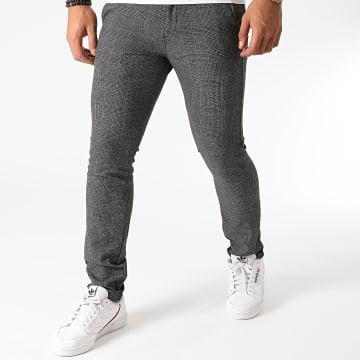 Le Temps Des Cerises - Pantalon Carreaux Noah Noir
