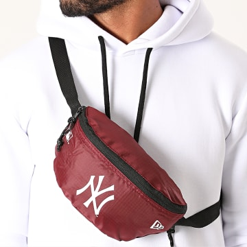 New Era - Sac Banane Mini Waist Bag 12484698 New York Yankees Bordeaux