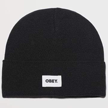 Obey - Bonnet Bold Label Noir