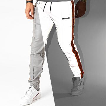 Project X - Pantalon A Bandes 2040079 Gris Réfléchissant