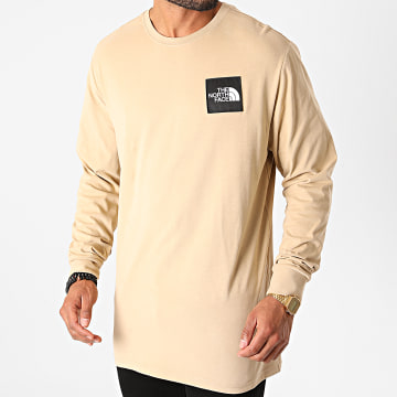 The North Face - Tee Shirt Manches Longues Boruda C9IH Beige