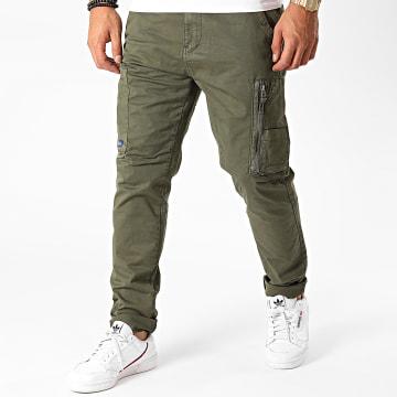 Blend - Pantalon Cargo 20710830 Vert Kaki