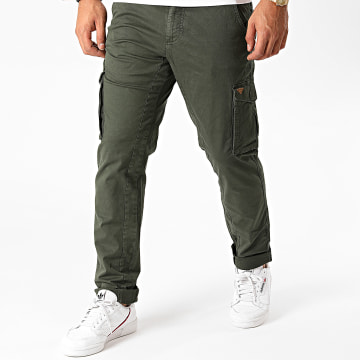 Blend - Pantalon Cargo 20707610 Vert