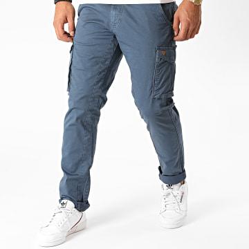 Blend - Pantalon Cargo 20707610 Bleu