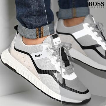 BOSS - Baskets Titanium Runner 50440774 Reflective Gris
