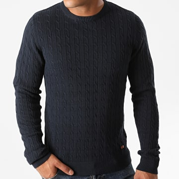 Jack And Jones - Pull Richard Bleu Marine