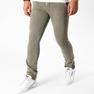 Le Temps Des Cerises - Pantalon Chino Kurt Jogg Vert