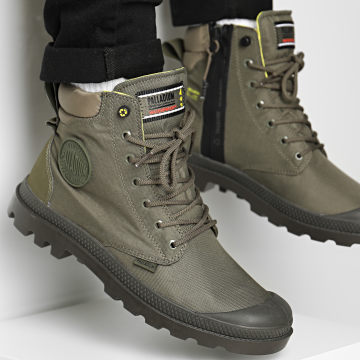 Palladium - Boots Pampa Recycle Waterproof 76869 Olive Night