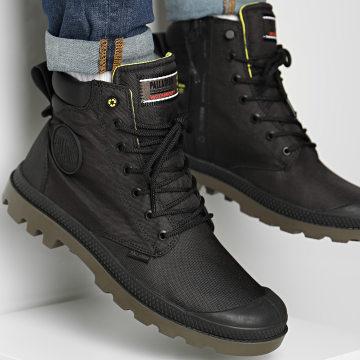 Palladium - Boots Pampa Recycle Waterproof 76869 Black Black