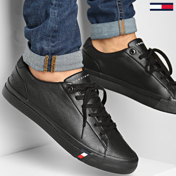 Tommy Hilfiger - Baskets Corporate Leather Sneaker 2983 Black