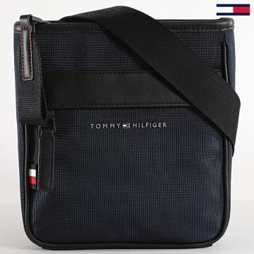 Tommy Hilfiger - Sacoche Elevated Nylon Mini Crossover 6471 Bleu Marine