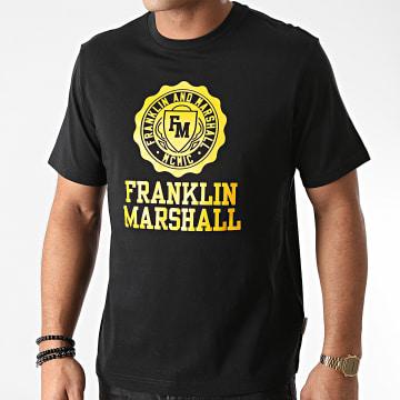 Franklin And Marshall - Tee Shirt JM3014-1000P01 Noir
