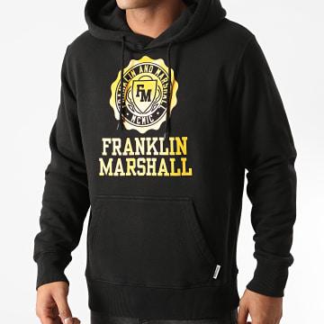 Franklin And Marshall - Sweat Capuche JM5018-2002P01 Noir