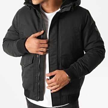 Jack And Jones - Parka Capuche Wetland Noir