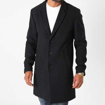 Jack And Jones - Manteau Moulder Bleu Marine