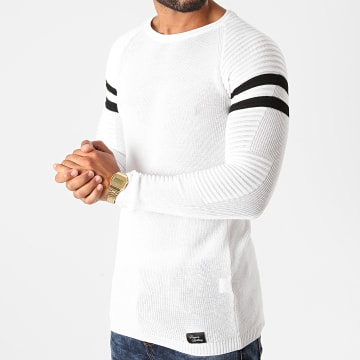 Paname Brothers - Pull PNM-205 Blanc