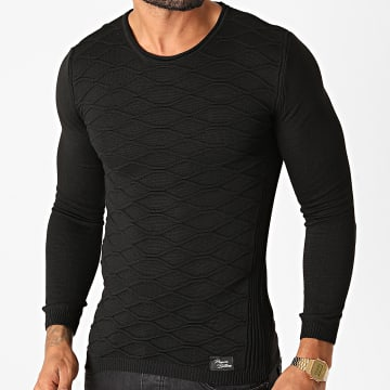 Paname Brothers - Pull PNM-201 Noir