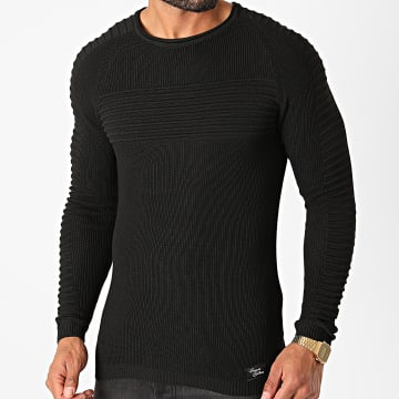 Paname Brothers - Pull PNM-202 Noir
