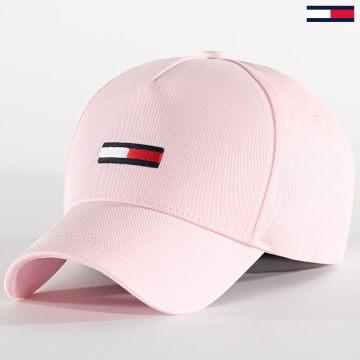 Tommy Jeans - Casquette Femme Flag Cap 8588 Rose