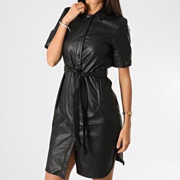Vero Moda - Robe Chemise Femme 10234410 Noir