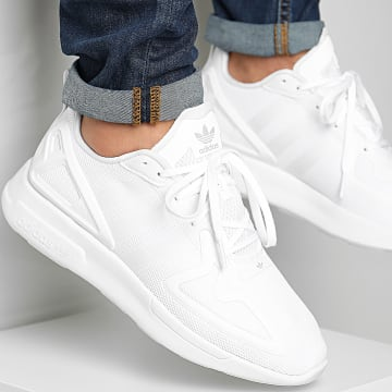 Adidas Originals - Baskets ZX 2K Flux FV9972 Footwear White Grey One