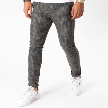 Armita - Pantalon Carreaux PAK-422 Gris Noir