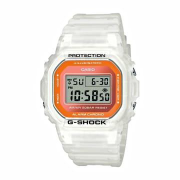 Casio - Montre G-Shock DW-5600LS-7ER Blanc