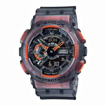 Casio - Montre G-Shock GA-110LS-1AER Gris Translucide