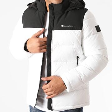 Champion - Doudoune Capuche 215246 Blanc