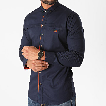 Classic Series - Chemise Manches Longues 20294 Bleu Marine