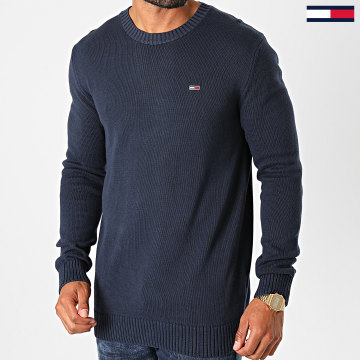 Tommy Jeans - Pull Essential 8801 Bleu Marine
