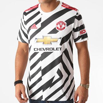 Adidas Performance - Tee Shirt De Sport Manchester United FM4263 Blanc