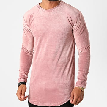 Frilivin - Tee Shirt Manches Longues Oversize 5520 Rose