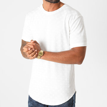 Frilivin - Tee Shirt Oversize 13966 Blanc