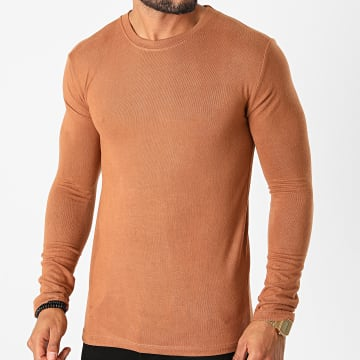 Frilivin - Tee Shirt Manches Longues 5529 Camel