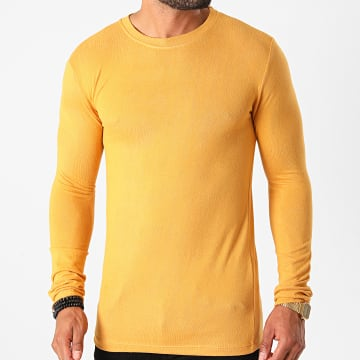 Frilivin - Tee Shirt Manches Longues 5529 Moutarde